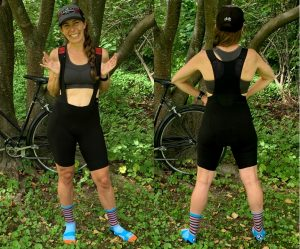 Castelli Premio Black W womens bib shorts